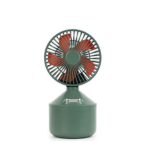 HUIXINLIANG Mini Ventilador portátil, Ventilador de Agua de pulverización, Ventilador de Mano Recargable USB Pequeños Ventiladores personales, para Sala de Oficina al Aire Libre para el hogar