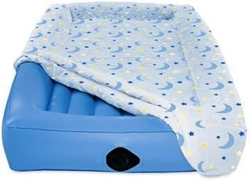 Child air mattress sleeping bag