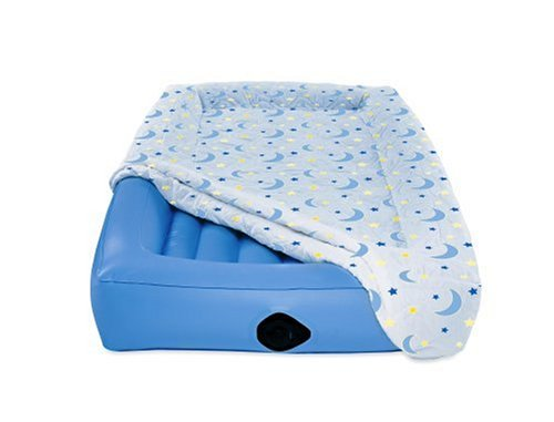 AeroBed Air Mattress for Kids,Blue,Twin
