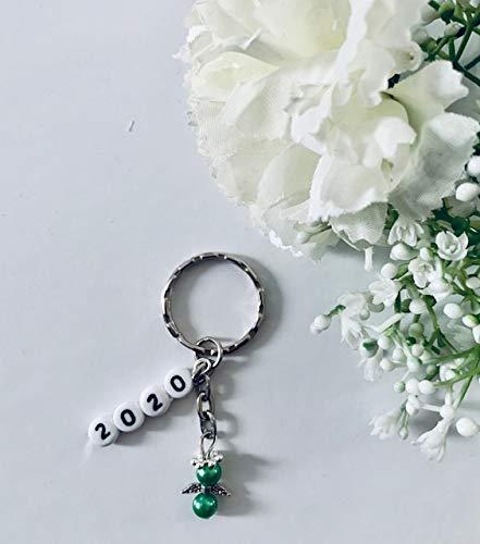 Nochevieja Ángel, amuleto de la suerte para Nochevieja llavero con 20