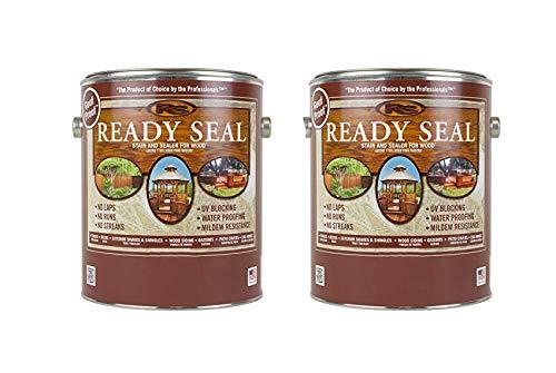 Ready Seal Dark Walnut 2 Gallon Pack