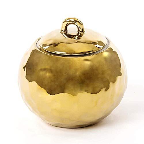 SELETTI 'Fingers Porcelain Gold Set Oggetti in Porcellana Dorata, Zuccheriera