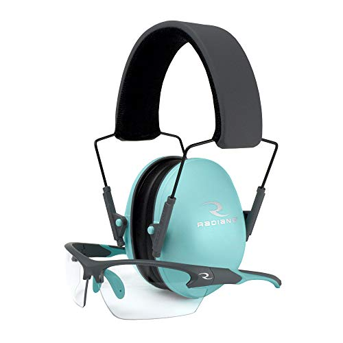Radians Lowset Muff/Glasses Aqua