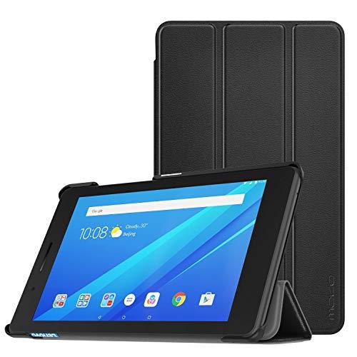 MoKo Hülle für Lenovo Tab E7, Ultra Slim PU Leder Tasche Schutzhülle mit Auto Sleep/Wake up Funktion & Standfunktion für Lenovo Tab E7 7