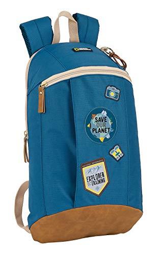 Safta Mini Mochila Reciclable National Geographic Explorer, 220x100x390mm