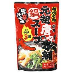 田靡製麺 元祖唐々本舗鍋の素 辛さ3番 750g×10袋入×(2ケース)