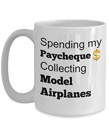 astando mi cheque de pago recolectando modelos de aviones - Regalo divertido para fanáticos