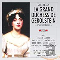 La Grand Duchess De Gerolstein