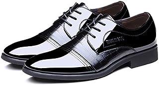 [ノーブランド品] ビジネスシューズ 紳士靴 靴 メンズシューズ 就活 仕事用 ビジネス用 ストレートチップ コンフォートシューズ 幅広 3e 4e 疲れない 走れる