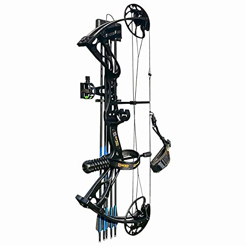 sanlida Archery 2021 Dragon X8 Hunting Compound Bow and Arrow Package for Adults and Teens/Limbs Made in USA/Limited Life-time Warranty