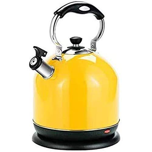 ESGT Hervidor de agua, hervidor de agua de acero inoxidable 304, para el hogar, 5 litros, botella de agua caliente de alto rendimiento con apagado automático