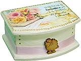 Christian Gifts Handmade Blessings Box Inspirational Faith Based Promise Scripture Bilingual Card Box Women Gift Cajitas de Promesas Regalos Cristianos Decoration Box