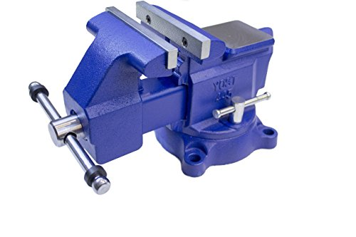 Yost Model 465 Heavy-Duty Industrial 6.5- Inch Combination Pipe and Bench Vise Tool with 360-degree Swivel Base for Home or Industrial Craftsmen