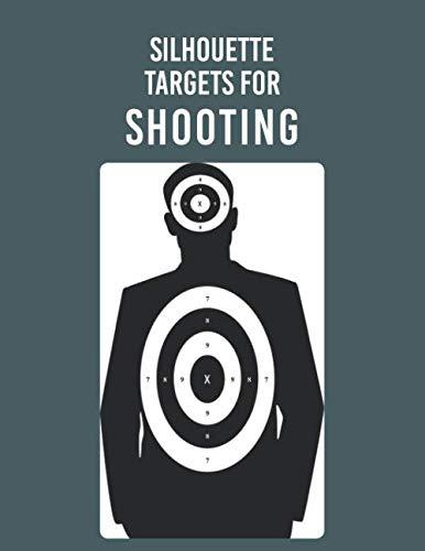Silhouette Targets for Shooting: Perfect for Gun Rifle Pistol Airsoft BB Gun Pellet Gun Air Rifle or Training Bullseye Archery