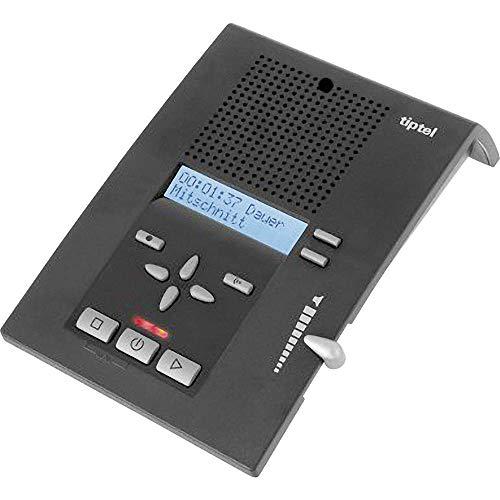 Tiptel 333 - Contestador automático con pantalla (4 respuestas, visualización de número,...