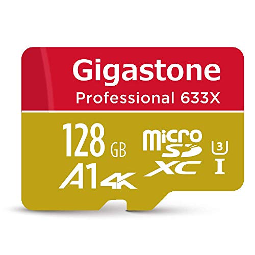 Gigastone Pro 128GB Micro SD Card UHS-I U3 up to 95MB/s, Rexing, Dashcam