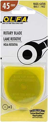 OLFA 9452 RB45-1 45mm Rotary Blade, 1-Pack