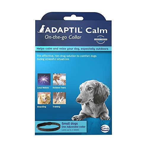 Adaptil Calm On-The-Go Collar para Perros (Todos los tamaños) | Calma Constante y Comodidad en Todas Partes (el Embalaje Puede Variar)