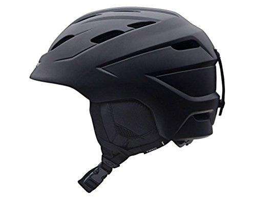 GIRO NINE.10 2018 UNISEX Snowboardhelm Skihelm Ski Snowboard Helm Helmet 240080(MATTE BLACK,M (55.5 - 59cm))