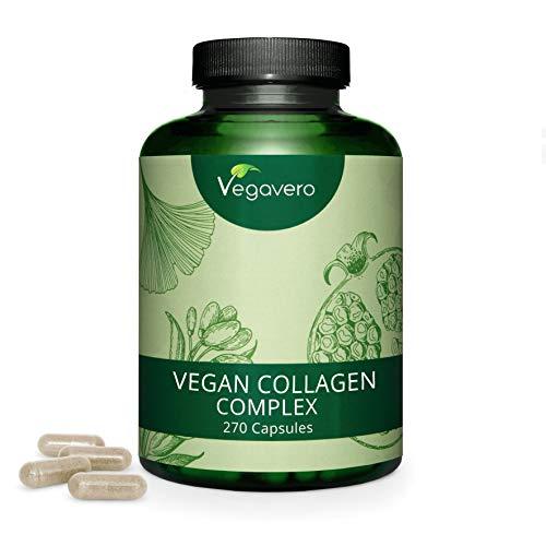 COLLAGENE Vegetale Vegavero | 270 capsule | NON PROVIENE DA SCARTI ANIMALI | Vegan
