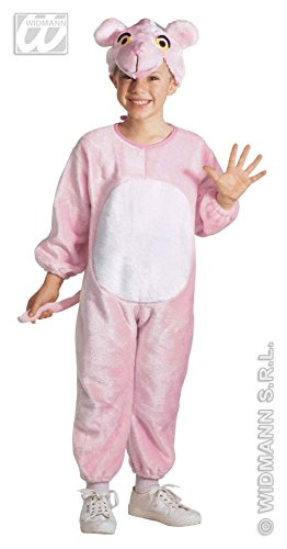 Panther en peluche rose Enfants Costume