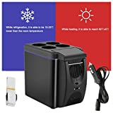 Tragbarer Mini-Kühlschrank, 6 l, doppelter Verwendungszweck, für Auto, Boot, Zuhause, Büro,...
