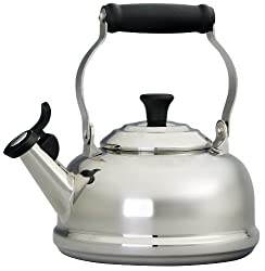 small Stainless Steel Teapot Le Creuset 1.8 Quarts