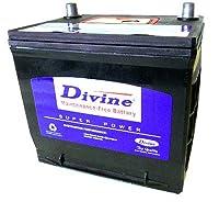DIVINE 55B24R メンテナンスフリー バッテリー 日本車規格 互換 40B24R 42B24R 44B24R 46B24R 48B24R 50B24R 52B24R