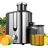 Juicer Machines, Picberm Centrifugal Juicer Easy to Clean, Wide Chute Compact Juicer Extractor for...