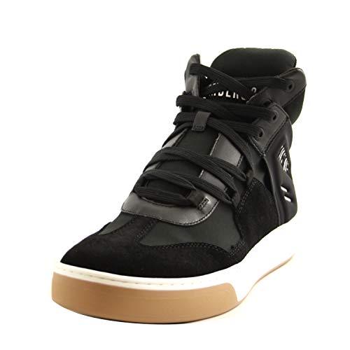Bikkembergs Schuhe für Herren, Leder und Stoff schwarz B4BKM0038, Schwarz - Schwarz - Größe: 42 EU