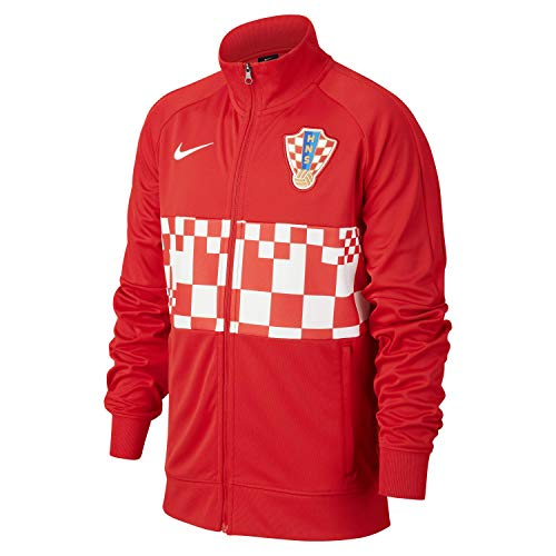 Nike Croatia Kroatien Kids Trackjacket Jacke (M, red)