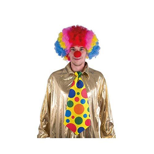 P'tit Clown 14525 Cravate Géante de Clown - 50 X 20 cm - Multicolore