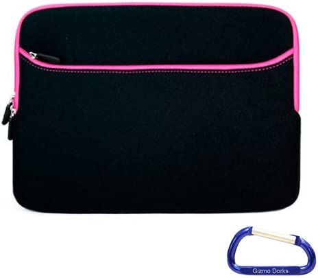 Gizmo Dorks Neoprene Sleeve Case Cover Sleek for OFFicial shop Phoenix Mall Pink Trim Acer