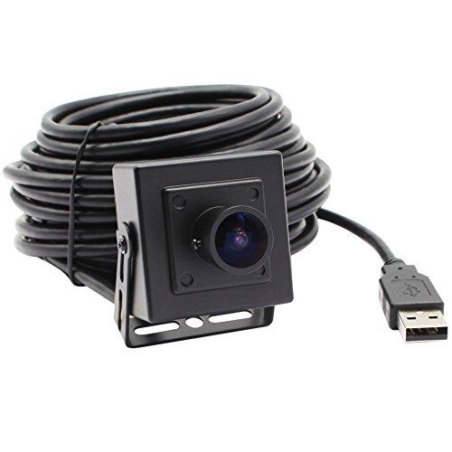 ELP 170 Degree megapixel fisheye Lens 5.0 megapixel USB Camera with aptina cmos Sensor and Aluminum Mini case