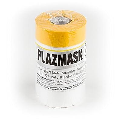 PlazMask Pre-Taped Masking Film