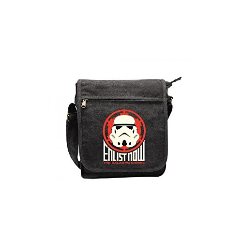 ABYstyle–Star Wars Umhängetasche–Enlist Now Trooper Unisex Erwachsene, 23x 27x 8cm, abybag104