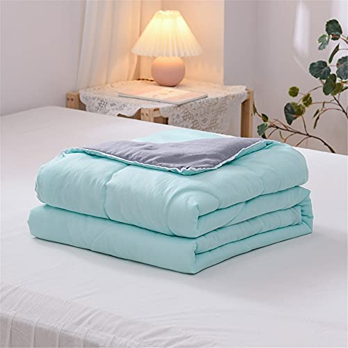Colcha de Verano Colcha Acolchada para Cama, Chickwin Multiuso Bicolor Edredón Manta de Dormitorio...