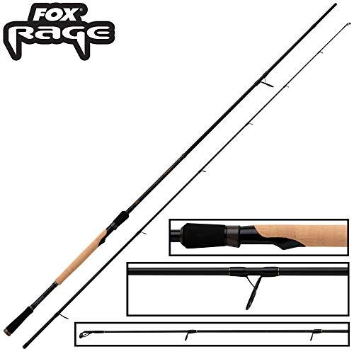 Fox Rage Terminator Bait Force 2,40m 30-80g - Spinnrute zum Spinnfischen auf Hechte, Jigrute zum Hechtangeln, Angelrute, Hechtrute