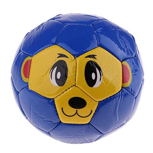F Fityle Balón de Fútbol de Tamaño 5.5 '' para Regalo de Juguete para Niños - Azul