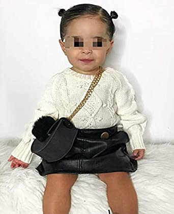 Toddler Baby Girl Clothes Ruffle Long Sleeves Floral Lace Blouse Top Plaid Button Brown Knit Mini Skirt Outfit Set