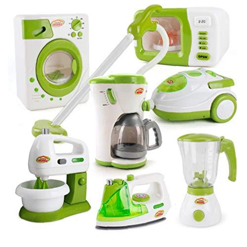 fedsjuihyg 1pc Kinder Kaffeemaschine Spielzeug Mini Küche Spielzeug Stimulation Elektrischer Koch Modell Pretend Play Toy Küchengerät Für Kleinkinder Home Küche