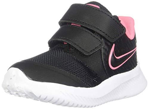 Nike Star Runner 2 (TDV), Zapatillas Unisex bebé, Negro (Black/Sunset Pulse/Black/White 002),...
