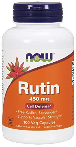 Now Foods Rutin, 450mg Capsules, 100-Count