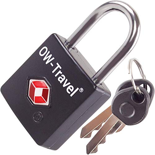 OW-Travel Candado con Llave TSA. Cerraduras para maletas. Candado para Taquilla. Candados...