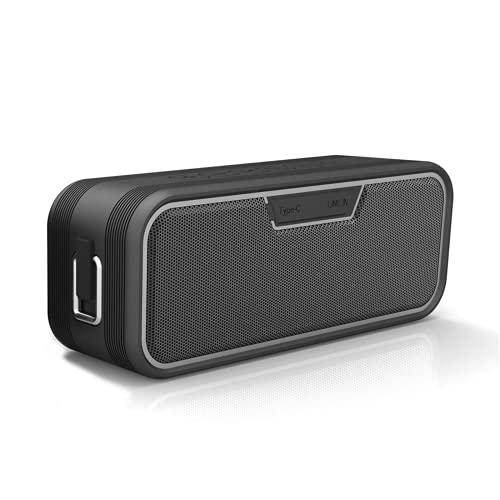 HLVU Altavoces Bluetooth Inalámbrico Bluetooth 4.2 Altavoz Estéreo Audio Player Big Power MP3 Altavoces Música Compatible Emparejamiento Estéreo Inalámbrico para Casa