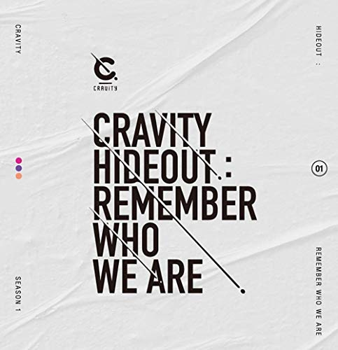 CRAVITY SEASON1 HIDEOUT:REMEMBER WHO WE ARE Album 3 VER SET CD+POSTER+Book+Card+NO PRE ORDER+TRACKING CODE K-POP SEALED