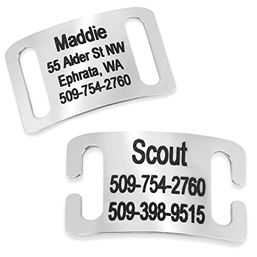 GoTags Personalized Slide-On Pet Tag