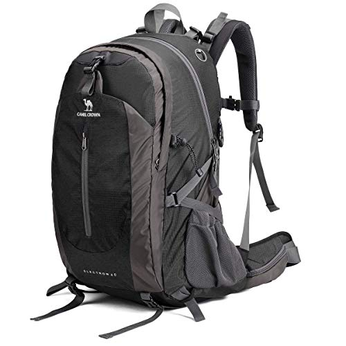 CAMEL CROWN 40L/50L Waterproof Hiking Backpack Travel Daypack Backpacks Trekking