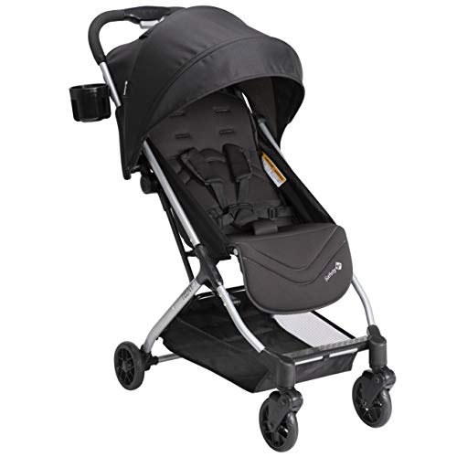 Safety 1st Teeny Ultra Compact Stroller, Black Magic, One...