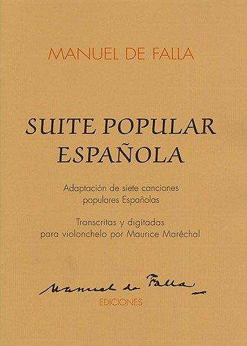 Price comparison product image Suite Populaires Espagnole: for Cello and Piano